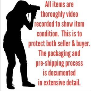Other - To protect both buyer and seller